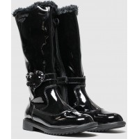 LELLI KELLY LK 6662 GRETA LEATHER KNEE HIGH BOOTS