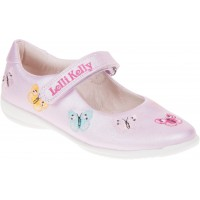 LELLI KELLY LK 9752 PRINCESS PUMPS SHOES PINK PEARLIZED