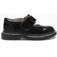 Lelli Kelly LK 8279 Tracy Black Patent School Shoes F Width