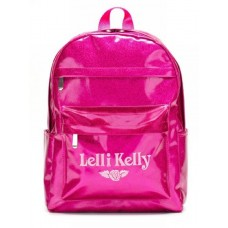 Lelli Kelly LK 8297 Purple Sparkly School Rucksack Backpack Bag
