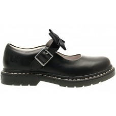 Lelli Kelly Youth LK 8360 Audrey Black Leather School Shoes F Width