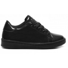 Lelli Kelly LK 8380 Taylor School Trainers Shoes Black Patent