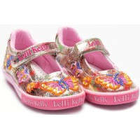 Lelli Kelly LK 9054 Clemantism Butterfly Multi Fantasy Dolly Shoes