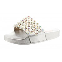 Lelli Kelly LK 9915 Vittoria Slider Sandals Silver