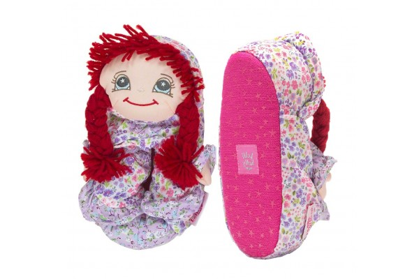 Lelli Kelly LK 8800 Doll Slippers Rossa With Gift