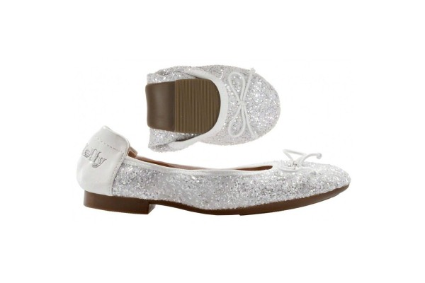 LELLI KELLY LK 4110 WHITE MAGIC BALLERINA SHOES MAGICHE