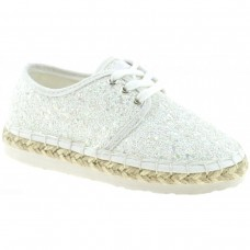 LELLI KELLY LK 4608 IBIZA ESPADRILLES PUMPS WHITE