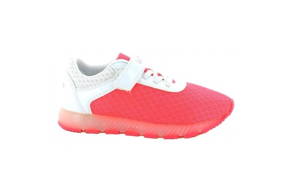 Lelli Kelly LK 4808 EMILY FUXIA/WHITE LIGHT UP TRAINERS