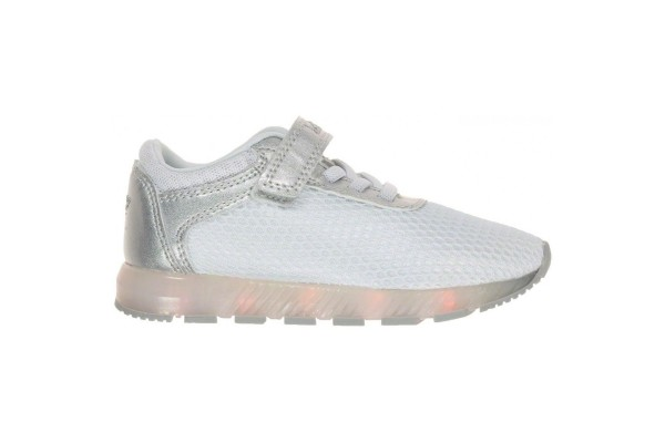 Lelli Kelly LK 4808 EMILY WHITE/SILVER LIGHT UP TRAINERS