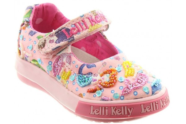 LELLI KELLY LK 5008 PINK MERMAID BABY DOLLY SHOES