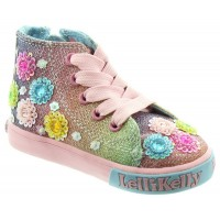 LELLI KELLY LK 5046 RAINBOW MILLESOLI HI-TOPS BOOTS