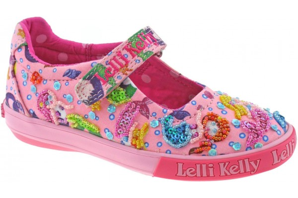 LELLI KELLY LK 5058 PINK MERMAID DOLLY SHOES