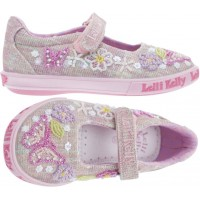 LELLI KELLY LK 5064 SHINING BUTTERFLY DOLLY SHOES MULTI