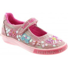 LELLI KELLY LK 5066 SHINING BOW GIRLS DOLLY SHOES