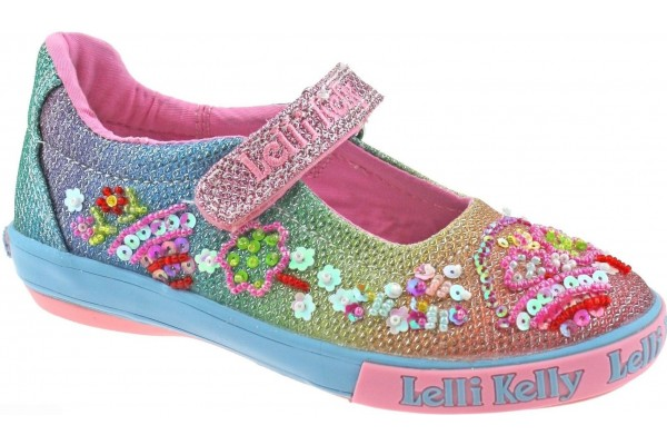 LELLI KELLY LK 5068 RAINBOW TILLIE SHOES MULTI GLITTER