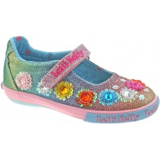 Lelli Kelly LK 5070 Glitter Rainbow Millesoli Dolly Shoes