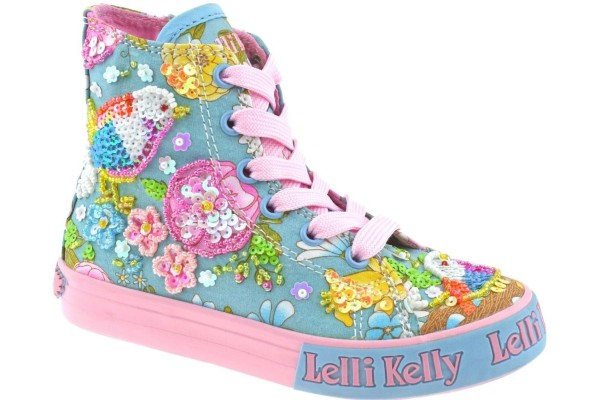 LELLI KELLY LK 5092 BIRDIE BASEBALL BOOTS WITH GIFT TURQ