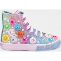 LELLI KELLY LK 5096 RAINBOW MILLESOLI HI-TOPS BOOTS