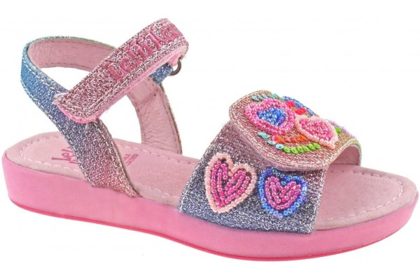 LELLI KELLY LK 5410 RAINBOW HEARTS SANDALS