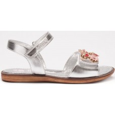 LELLI KELLY LK 5510 MATILDE SILVER METALLIC SANDALS