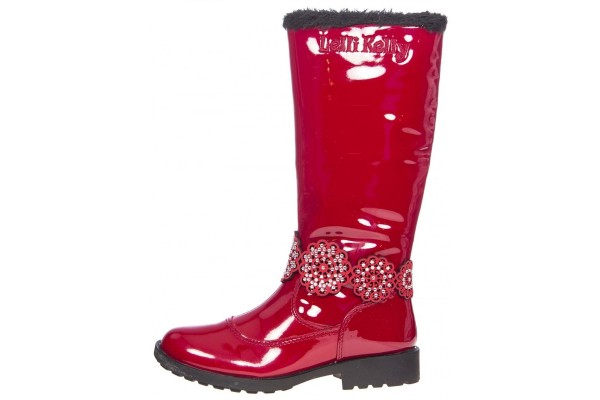 LELLI KELLY LK 5824 BELLA2 BOOT RED NO BOX