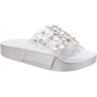 Lelli Kelly LK 5912 Daiana Slider Sandals Silver