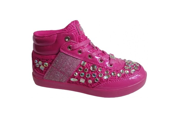 Lelli Kelly LK 6167 California Fuxia Hi-Tops