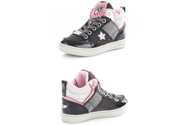 Lelli Kelly LK 6404 GUFETTO Hi TOP TRAINERS BLACK