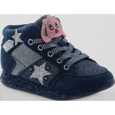 Lelli Kelly LK 6522 CONIGLIETTO Hi TOP TRAINERS NAVY