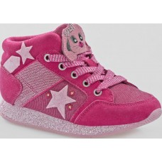 Lelli Kelly LK 6522 CONIGLIETTO Hi TOP TRAINERS FUXIA