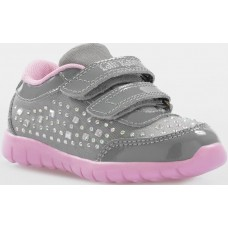 Lelli Kelly LK 7832 Eva Baby Trainers Grey