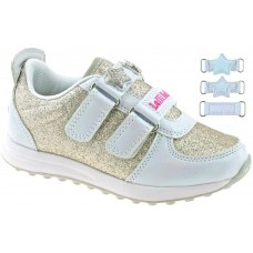 Lelli Kelly LK 7860 Colourissima Interchangeable Straps Trainers White
