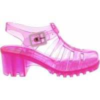 Lelli Kelly lk 7976 Transparent Fuchsia Jelly Sandals