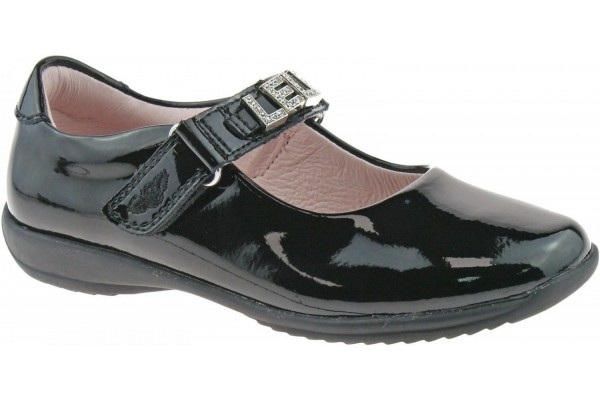 LELLI KELLY LK 8200 NICOLE INTERCHANGEABLE STRAP SHOES BLACK PATENT