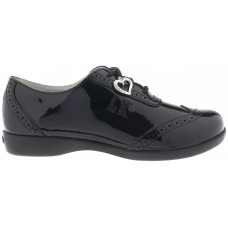 Lelli Kelly LK 8281 Kimberly Girls Shoes Black Patent Shoes