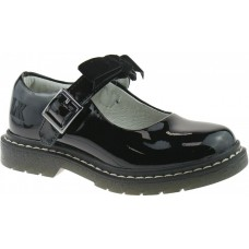 Lelli Kelly School Shoe For Teens/Youth lk 8286 Frankie Black Patent