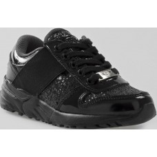 Lelli Kelly LK 8295 California School Trainers Black Patent