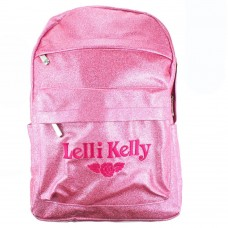Lelli Kelly LK 8297 Pink Sparkly School Rucksack Backpack Bag