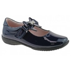 LELLI KELLY LK 8300 INTERCHANGEABLE STRAP SHOES NAVY PATENT