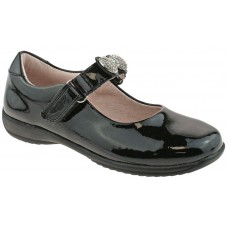 LELLI KELLY LK 8304 MANDY INTERCHANGEABLE STRAP SHOES BLACK PATENT F FIT