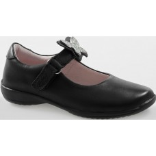 LELLI KELLY LK 8305 INTERCHANGEABLE STRAP SHOES BLACK LEATHER F FIT