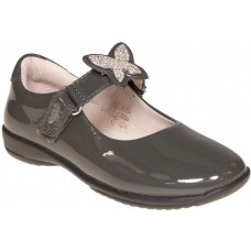 LELLI KELLY LK 8305 INTERCHANGEABLE STRAP SHOES GREY PATENT F FIT