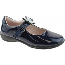 LELLI KELLY LK 8305 INTERCHANGEABLE STRAP SHOES NAVY PATENT