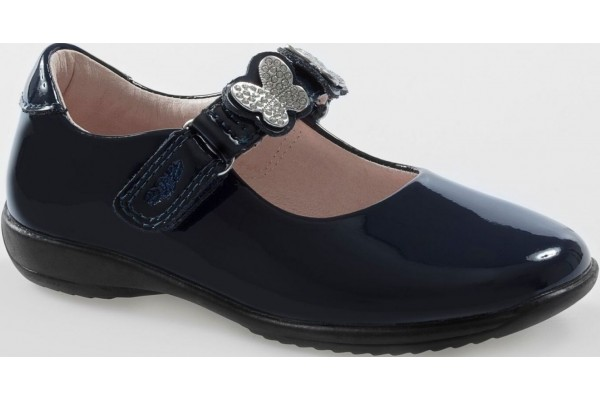 LELLI KELLY LK 8309 INTERCHANGEABLE STRAP SHOES NAVY PATENT