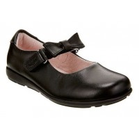 LELLI KELLY LK 8354 MANDY INTERCHANGEABLE STRAP SCHOOL SHOES BLACK LEATHER G FIT