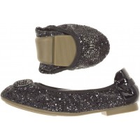 LELLI KELLY LK 8390 GLITTER MAGIC SCHOOL BALLERINA PUMPS SHOES