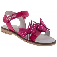 LELLI KELLY LK 9454 FUXIA PATENT SANDALS