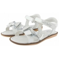 LELLI KELLY LK 9454 WHITE PATENT SANDALS