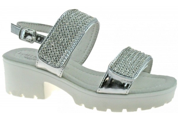Lelli Kelly lk 9482 Splendid Silver Heel Sandals
