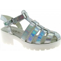 Lelli Kelly lk 9484 Silver Closed Toe Sandals